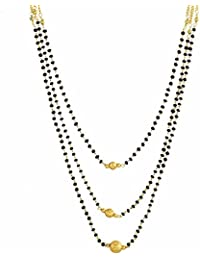 Mm24 Gold Plated Mangalsutra For Women