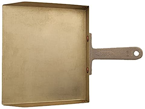 Ampco Safety Tools D-50 Dust Pan, Non-Sparking, Non-Magnetic, Corrosion Resistant, 9