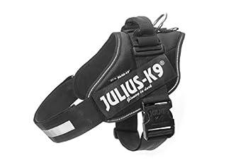 Julius K9 IDC Harnais pour chien Noir 3 (80-110 cm / 40 - 70 kg)