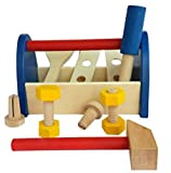 #2: Take Along Tool Kit Wooden Contruction Toy.Toy for young mechanics.