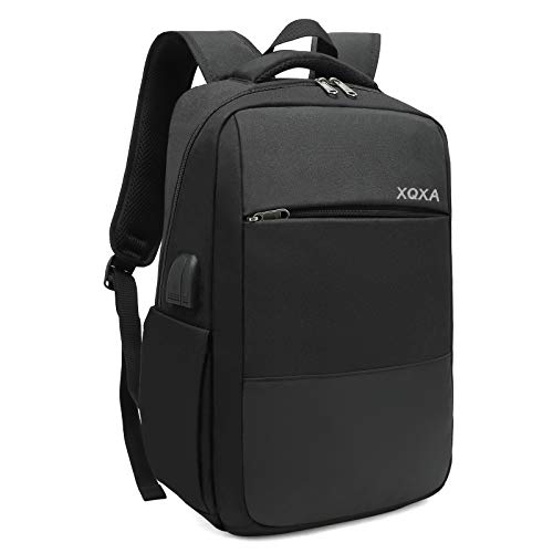 XQXA Mochila Unisex Impermeable para Ordenador Portátil de hasta 15.6...