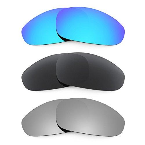 Revant Ersatzlinsen für Oakley Juliet Polarisiert 3 Paar Kombipack K015 (Revant Oakley Juliet)