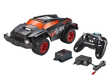 Revell Control X-treme RC Car - schnelles, sehr robustes ferngesteuertes Auto als PickUp mit 2,4 GHz Fernsteuerung inkl. Akku und Ladegerät (kurze Ladezeit - langer Fahrspaß) - MOHICAN