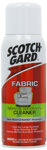 Scotchgard Fabric and Upholstery Cleaner with Scotchgard Protector, 388 ml
