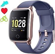 Jogfit Smartwatch Cronometro Orologio Fitness Donna Uomo, Smart Watch GPS Fitness Tracker Impermeabile IP68 Ca