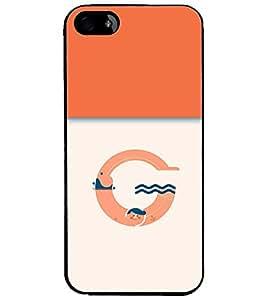 PrintDhaba GRANDbet G D-3204 Back Case Cover for APPLE IPHONE 5 (Multi-Coloured)