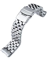 Super Engineer II watch band for SEIKO Sumo SBDC001 SBDC003 SBDC031 SBDC033, Brushed