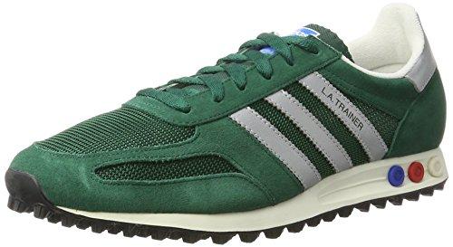 adidas la Trainer OG, Chaussures de Gymnastique Homme Vert (Collegiate Green/matte Silver/core Black)
