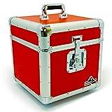 Gorilla LP 30,5cm Vinyl Record Aufbewahrungsbox Flight Case Rot INC Lebenslange Garantie