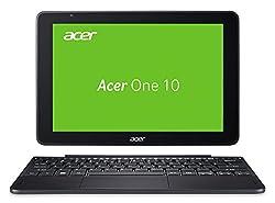 Acer One 10 S1003-15RV 25,65 cm (10,1 Zoll, HD, IPS, Multi-Touch) Convertible Laptop (Intel Atom x5-Z8350, 4GB RAM, 64GB eMMC, Win 10) schwarz