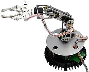 Arexx RA1-PRO - Brazo para Robot (Metal), Color Plateado