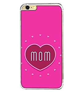Fuson Designer Back Case Cover for Apple iPhone 6 Plus :: Apple iPhone 6+ (mummy mother maa mom aai amma)