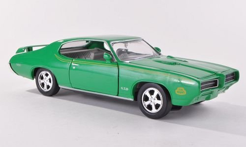 pontiac-gto-judge-grun-1969-modellauto-fertigmodell-motormax-124