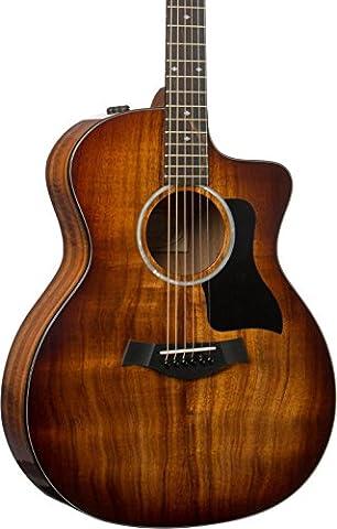 Taylor 224ce-K DLX All Koa Grand Auditorium Electro Acoustic ES-2