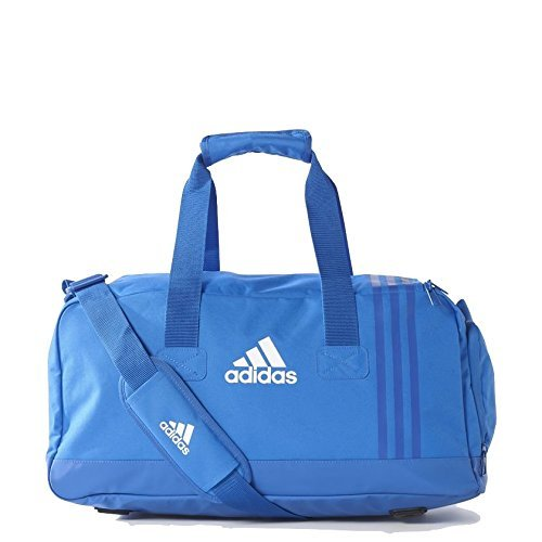 adidas Erwachsene Tiro BS4 Team-Tasche S, Blue/Bold Blue/White, 25 x 50 x 25 cm