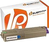 Bubprint Toner kompatibel für Oki 46490403 für C532 DN C532DN C542DN MC563DN MC573DN 1.500 Seiten Cyan