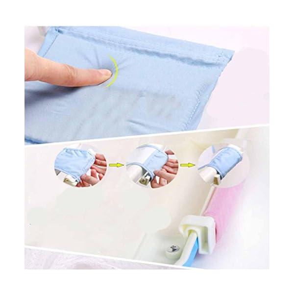 Newborn baby shower bath net non-slip net bath bath tub network Adjustable Versatile Comfort Baby Bath 3