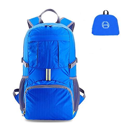Kyerivs 35L Ultraleicht Faltbare Wanderrucksack, Multifunktionale Wasserdichte Camping Rucksack für Bergsteiger