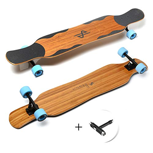 Dance Longboard, HB Boards Step, Professioneles Bamboo Freestyle und Dancing Longboard 46