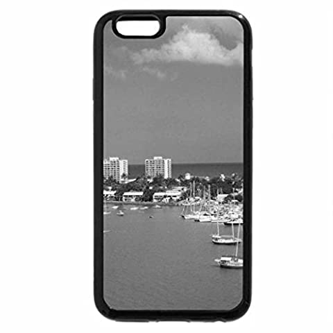 iPhone 6S Plus Case, iPhone 6 Plus Case (Black & White) - Montego Bay, Jamaica