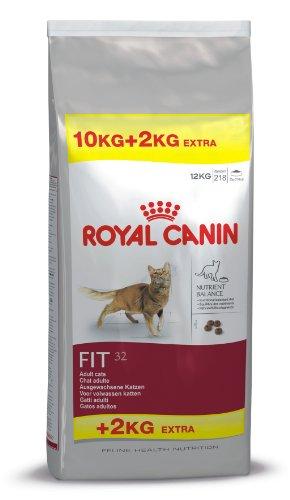 Aristocats Die 2 (Royal Canin Katzenfutter Feline Fit 32, 10 + 2 kg gratis, 1er Pack (1 x 12 kg Packung))