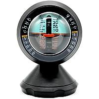 KKmoon Coche Inclinómetro, Indicador de Nivel Medidor de Inclinación Herramienta Degradado Balancer