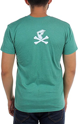 Famous Stars and Straps - Männer Camo Fambones Premium-T-Shirt Kelly Green