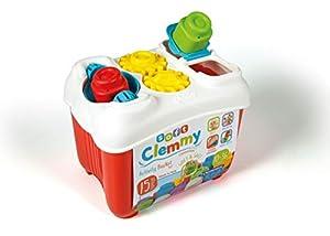 Clementoni- Clemmy Baby Cubo construcc.blandita21x24 Soft Actividades, Multicolor, única (17171)