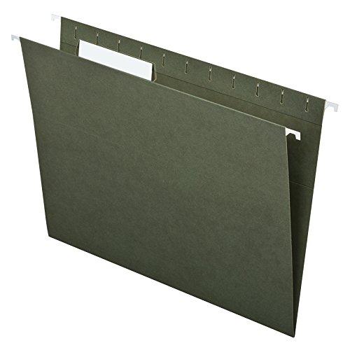 pendaflex-essentials-hanging-folders-letter-size-1-3-cut-tabs-standard-green-25-per-box-81601