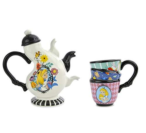 Ideal Casa, Set aus einer Teekanne und einer Tasse, Motiv: