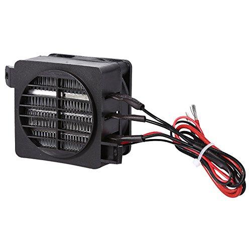 PTC Auto Lufterhitzer Heizlüfter 100 Watt 12 V Energiesparende Auto Heizlüfter Konstante Temperatur Heizelement Heizungen (Volt 12 Heizung)