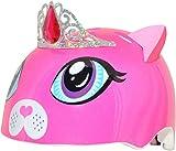 C-Preme Kinder Raskullz Kitty Tiara Fahrradhelm, pink, One Size