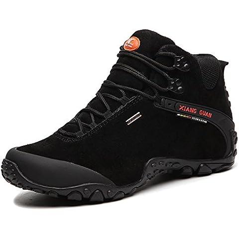 Scarpe uomo da escursionismo & stivali in pelle scamosciata per