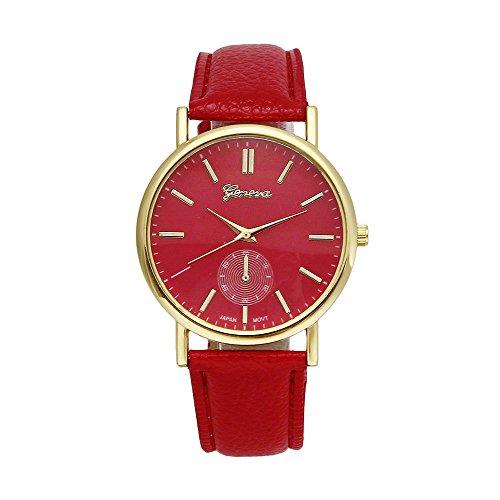 familizo-unisex-leather-band-analog-quartz-vogue-wrist-watches-red