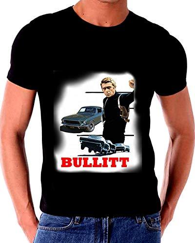 RWYZTX® Steve McQueen Bullit 1967 Fastback Mustang GT T Shirt