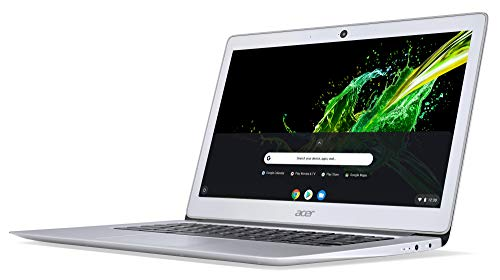 Acer Chromebook 14 CB3-431-C6UD 35,6 cm (14 Zoll Full HD IPS matt) Notebook (Intel Celeron N3160, 4GB RAM, 32GB eMMC, Intel HD Graphics, Google Chrome OS) silber - 2