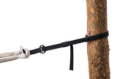 AMAZONAS T-Strap Aufhänge Set für alle Hängematten baumschonend 15-220 cm und bis 200 kg pro Aufhängung