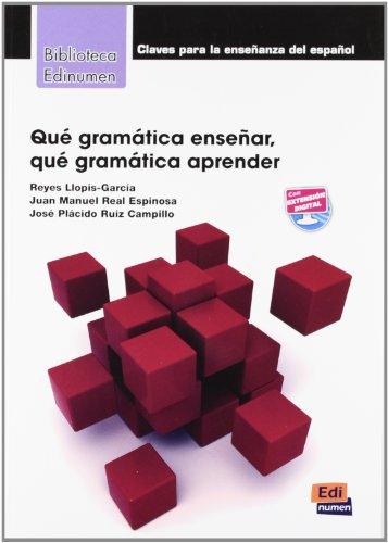 Que gramatica ensenar, que gramatica aprender ?
