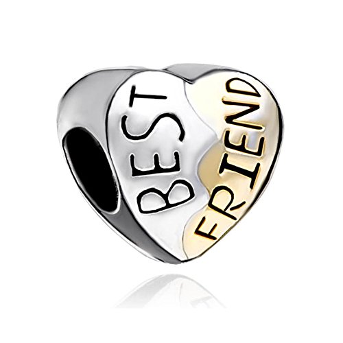 Uniqueen Jewellry New Heart Best Friend Bead