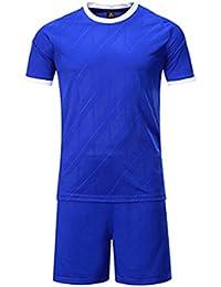 Huicai Hombres y Mujeres Ropa de Fútbol Manga Corta Corriendo  EjercicioCamisas y Pantalones Cortos con Camiseta e278eced7576c