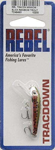 Rebel Slick Rainbow Trout TD49 Tracdown Minnow Lure 2.5 Ounce 2