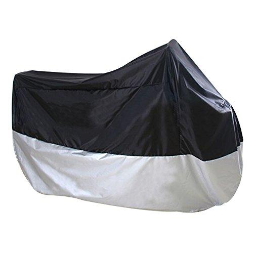logei® Motorrad Ganzgarage Abdeckplane Abdeckung Garage Faltgarage Wetterschutz Schutzhülle Motorradplane Cover Roller Regenschutz, L