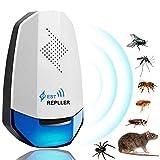 YQHbe Ultraschall Gegen Mäuse, Ultraschall Schädlingsbekämpfer, Pest Repeller Mäuse Vertreiben Ultraschall Stop Mouse Pro Insektenschutzmittel für Mäuse Und Ratten, Schaben, Insekten, Ameisen