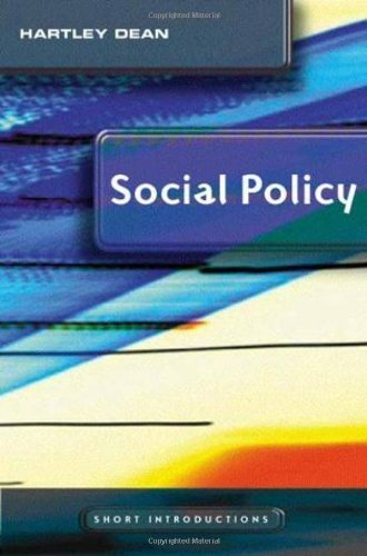 Social Policy (Polity Short Introductions) 1st Edition by Dean, Hartley published by Polity