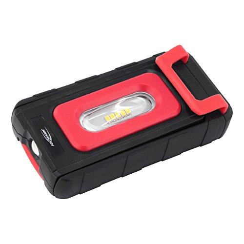 Preisvergleich Produktbild ANSMANN WL200B batteriebetriebene Werkstattleuchte / kabellose LED-Arbeitslampe mit leistungsstarker Leuchtkraft / Vielseitiger Arbeitsscheinwerfer für Werkstatt, Camping & Auto