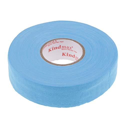 Amti-Rutsch Griffbänder Overgrip Bänder Cotton Tape für Hockey- und Eishockeyschläger - Blau
