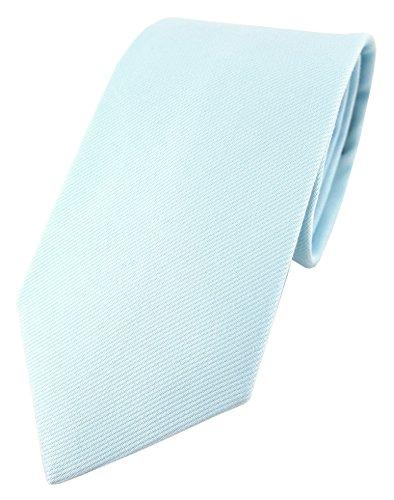TigerTie Corbata - Liso - para hombre azul claro Talla única