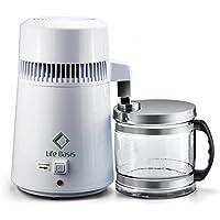 LifeBasis Destilador de Agua Casero Doméstica Water Distiller Purificador Filtro para Hacer Agua Desmineralizada Destilada Eficacia