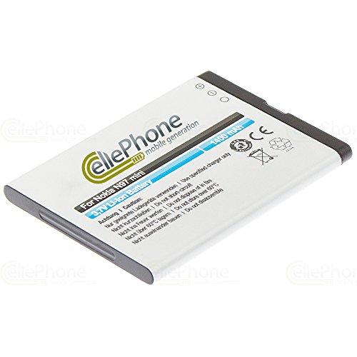 cellePhone Akku Li-Ion kompatibel mit Nokia E5-00 / E7-00 / N8-00 / N97 Mini (Ersatz für BL-4D) Mini N97 Handy