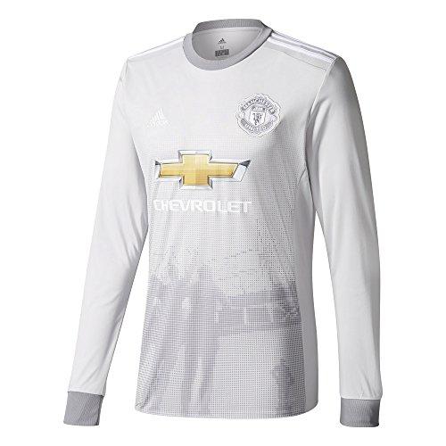 adidas Herren Manchester United Replica Third Jersey Trikot, Lgsogr/White/Grey, XS -